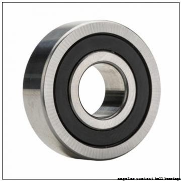 35 mm x 80 mm x 21 mm  ISO 7307 B angular contact ball bearings