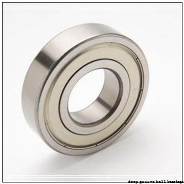 60 mm x 110 mm x 61,91 mm  Timken GE60KRRB deep groove ball bearings