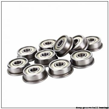 5 mm x 16 mm x 5 mm  ZEN SF625-2Z deep groove ball bearings