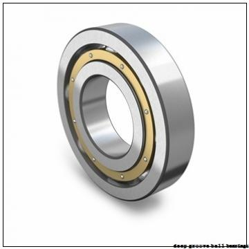12.7 mm x 22.225 mm x 7.142 mm  SKF D/W R6-5-2ZS deep groove ball bearings