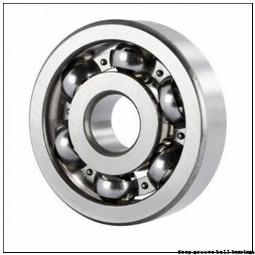 45 mm x 75 mm x 16 mm  KBC 6009UU deep groove ball bearings