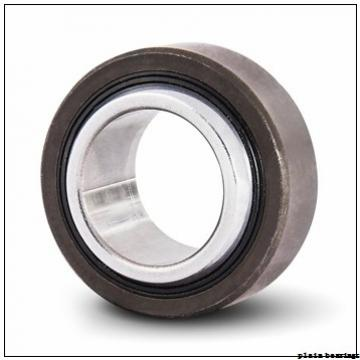 20 mm x 55 mm x 14,3 mm  ISO GW 020 plain bearings